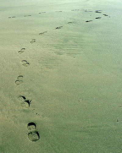 Footprint Question Mark