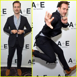 James Van Der Beek Gets 'Lit' at TCA Summer Press Tour