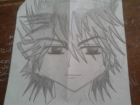 anime boy haajarahs drawing photo  fanpop