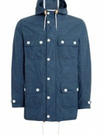 Barbour Washed Blue Neigh Parka Jacket