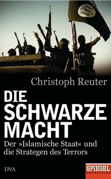 """غلاف كتاب """"السلطة السوداء - تنظيم الدولة الإسلامية واستراتيجيو الإرهاب"""". DVA/Spiegel Buchverlag"""
