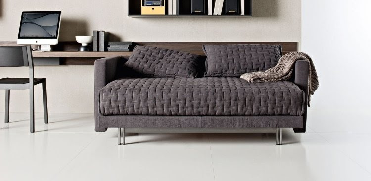 Schlafsofa in Grau - modernes und funktionales Wohnzimmer