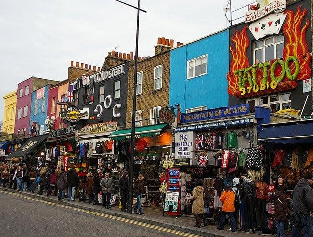 Camden Market, em London, GlobalGrasshopper.com