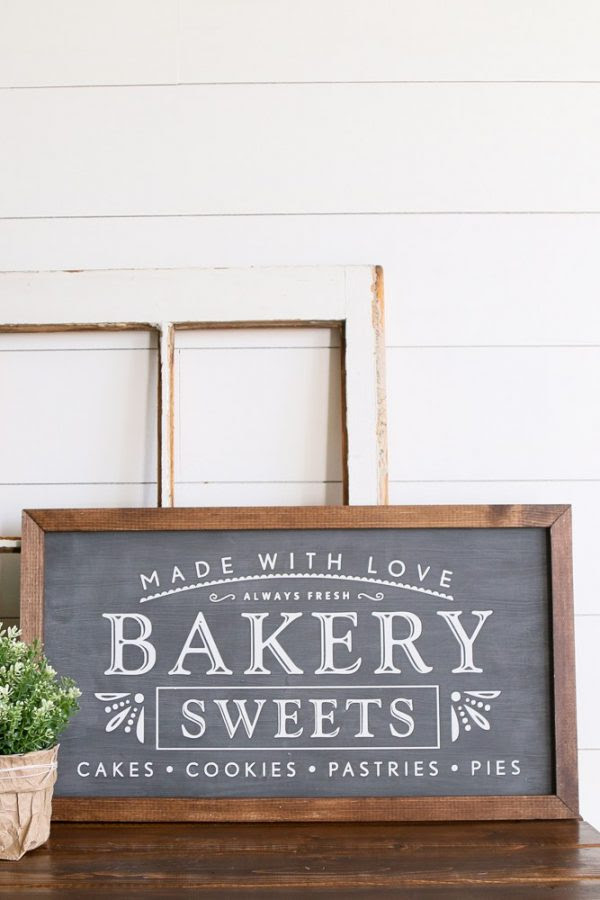 farmhouse wood signs on Etsy by a Fresh Squeezed Life