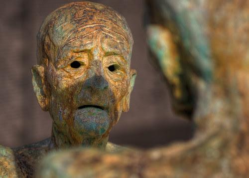 Look into my eyes... - Miami Beach Holocaust Memorial