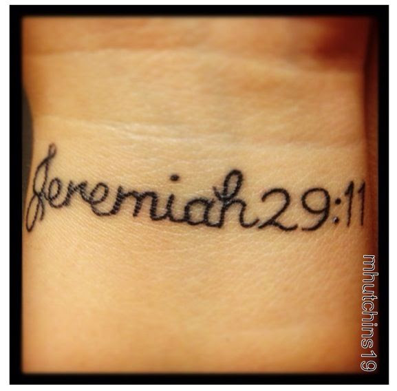Jeremiah 29 11 Tattoo Related Keywords Suggestions Jeremiah 29