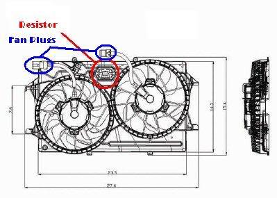 Cooling Fan Ford Focus Cooling Fan Resistor