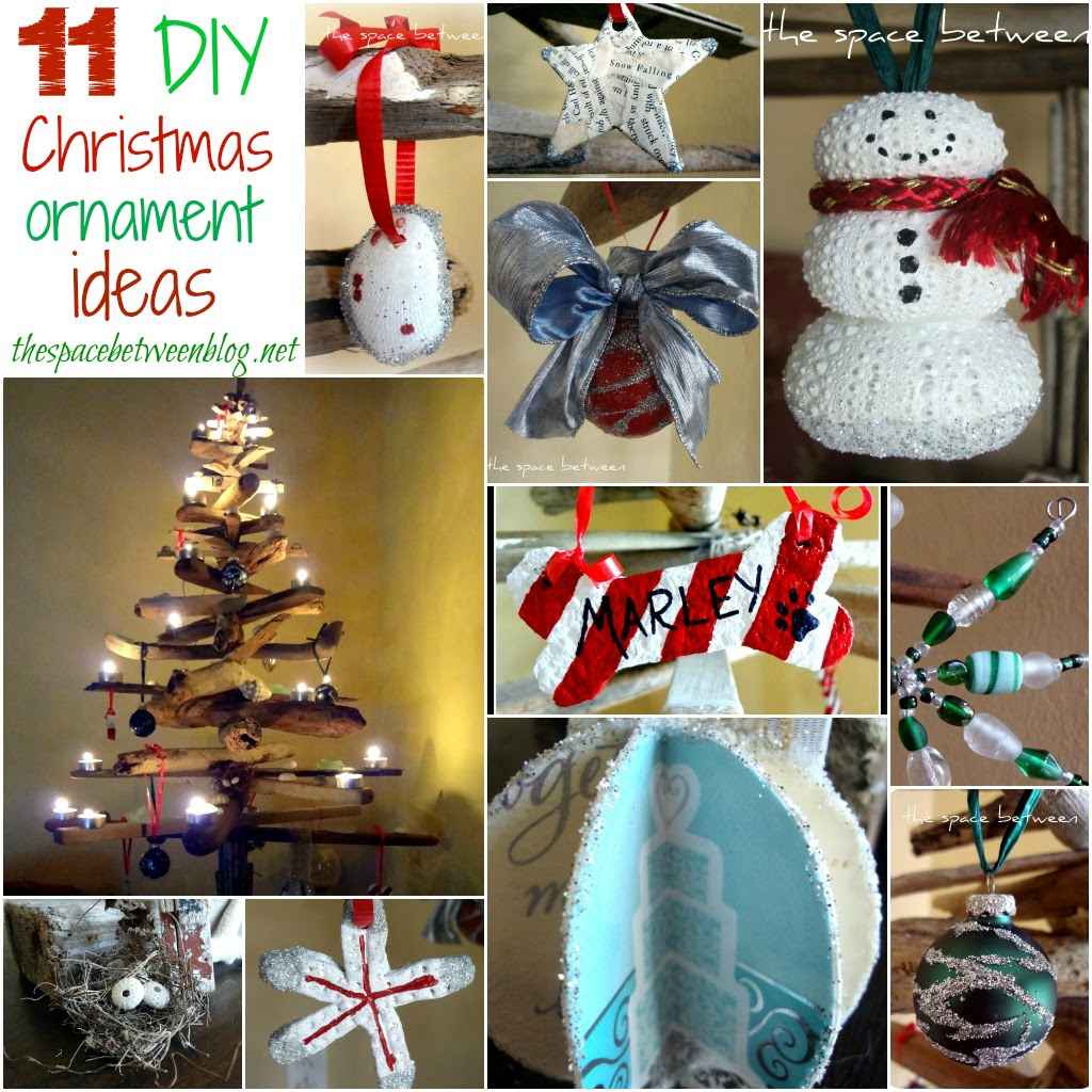 up what we made to show off our 11 DIY Christmas Ornament Ideas