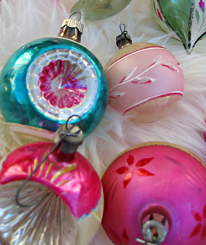 vintage christmas tree ornaments -5