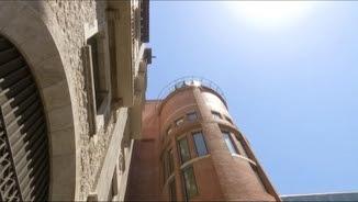 Edifici del Palau de la Música, aquest dimarts