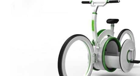 Conheça a bicicleta dobrável que pode servir de mala