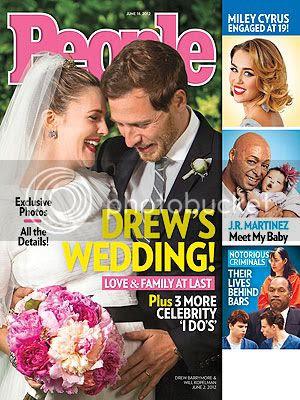 Drew Barrymore Wedding Details