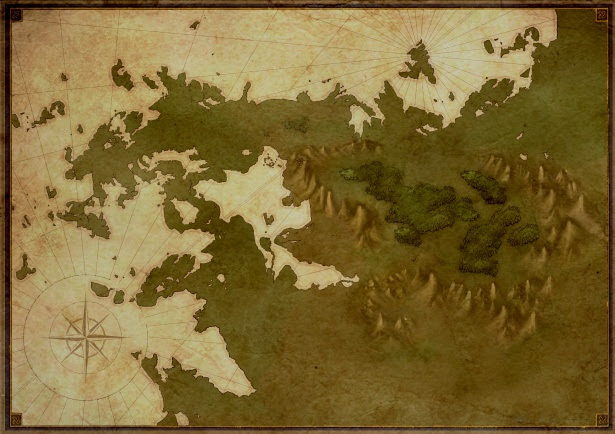 Fantasy Blank Map Free Stock Photo Public Domain Pictures