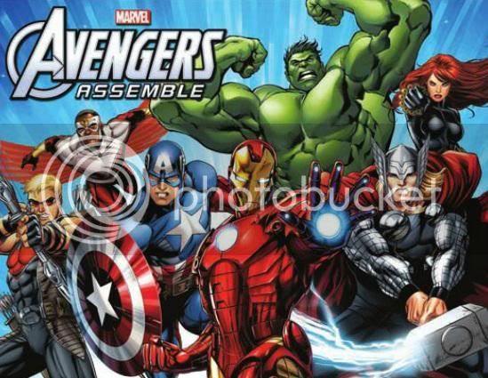 New Avengers Cartoon