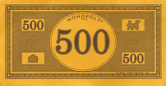 $500 Monopoly note