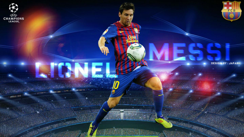 Download Wallpaper Lionel Messi Football Barcelona 1440x810