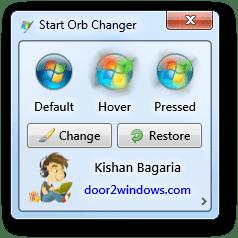 Windows 7 Start Orb Changer