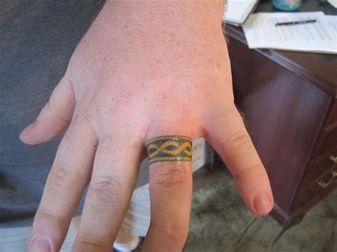Wedding Ring Tattoos   Very Impressive Examples on SloDive