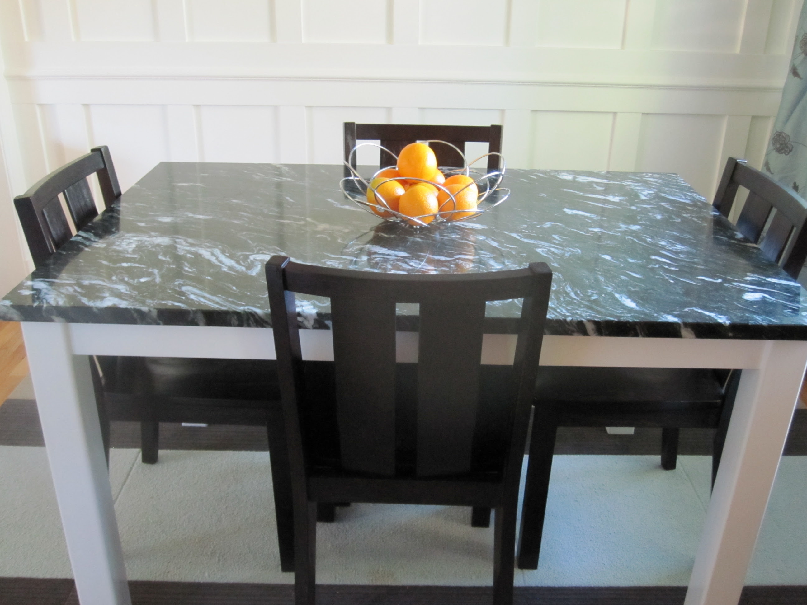 Marble Top Dining Room Table