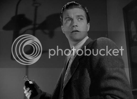 Dennis Morgan as Dr Mike Rhodes