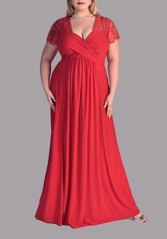 Rome jumia Layered Mesh Panel Cutout Back Mermaid Dress rose gold
