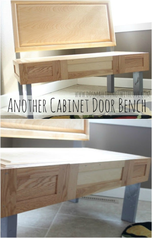 25 DIY Projects Made From Old Cabinet Doors - It's Time To ...