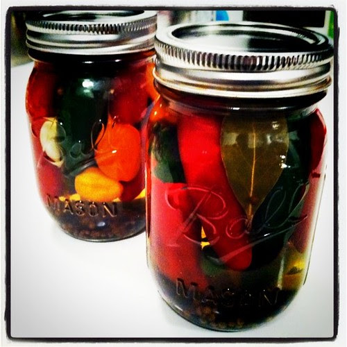 pickled peppers, one peck of...