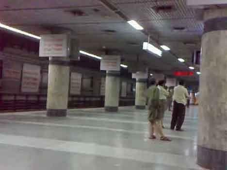 आत्महत्या के लिए बदनाम है मेट्रो  स्टेशन पर है भूतों का साया