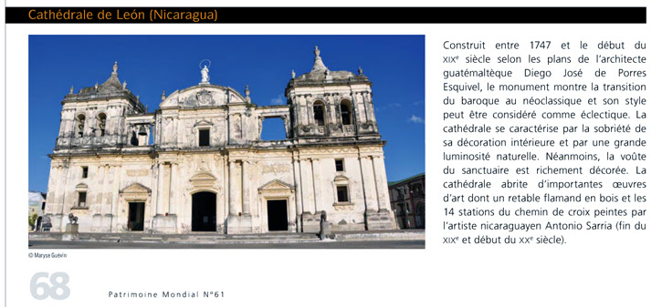 Photos dans le magasine Unesco
