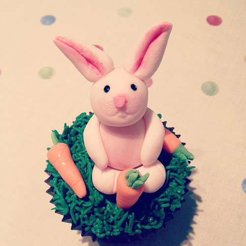#Easter #cupcakes #easterbunny #caketopper :) x