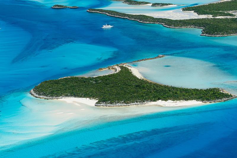 Exumas island, Bahamas