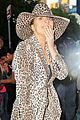 lady gaga rocks head to toe leopard print outfit in nyc02