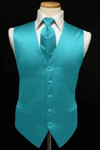 Vest & Ties   Turquoise & Teals   My prince asked time