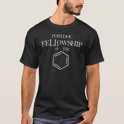 Postdoc Fellowship of the Ring T-Shirt