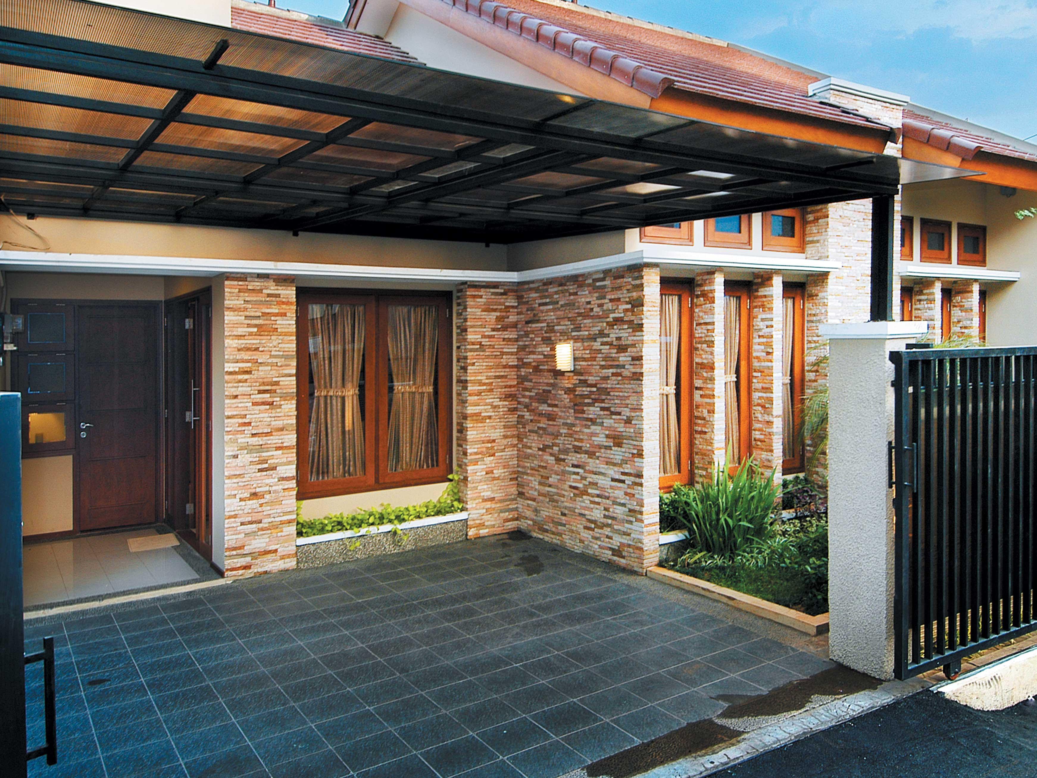 76 Gambar Tampak Depan Rumah Minimalis Bata Expose HD Terbaru