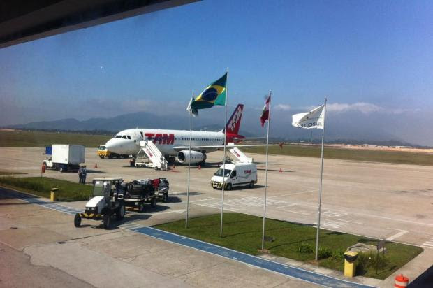 Três aeroportos de Santa Catarina ficam fechados por causa de neblina marítima Guto Kuerten/Agencia RBS