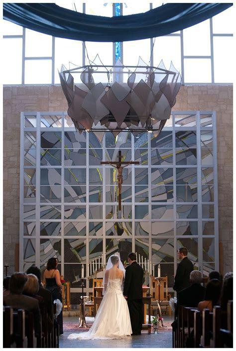 Wedding ceremony at Saint Albert the Great Catholic Church