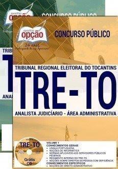 Apostila Concurso TRE TO 2017 | ANALISTA JUDICIÁRIO - ÁREA: ADMINISTRATIVA