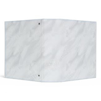 White Rose Wedding Binder binder