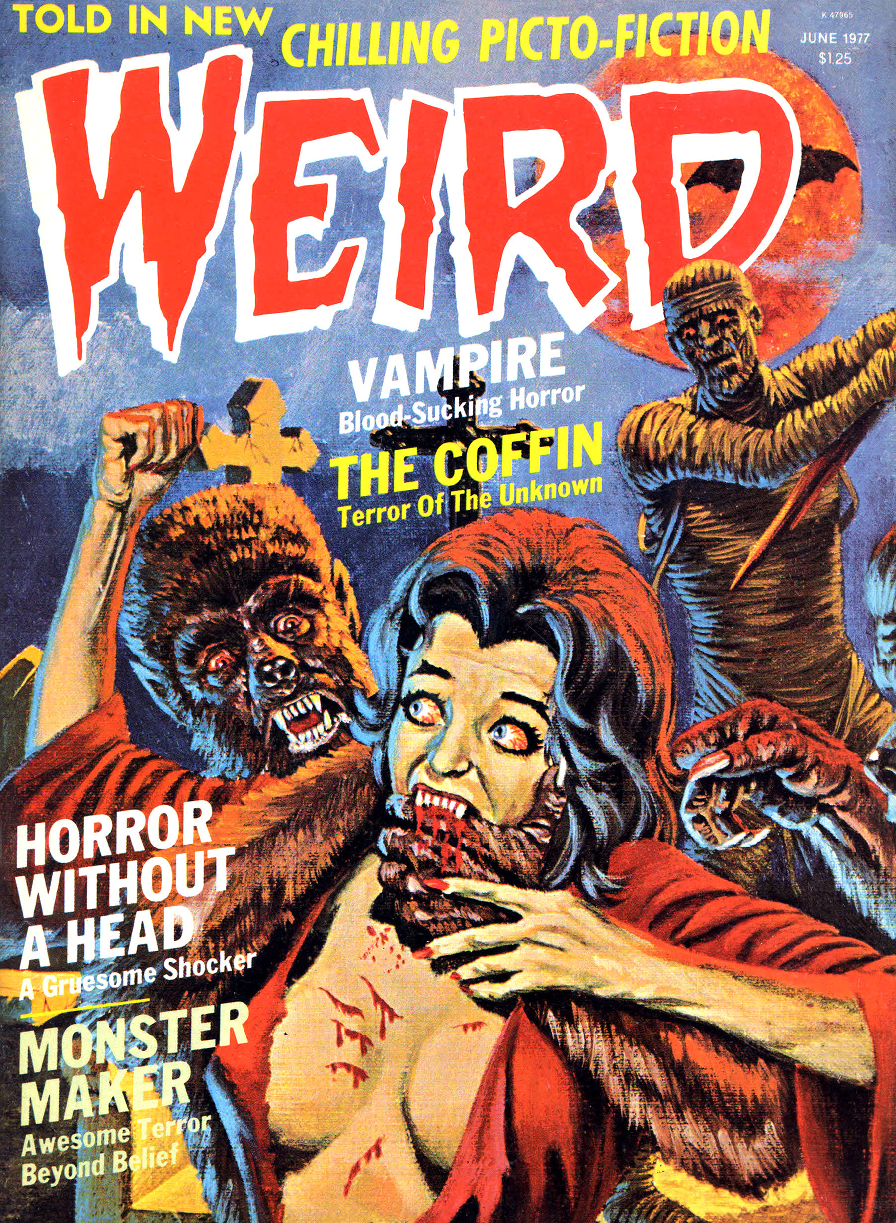 Weird Vol.10 #2 (Eerie Publications, 1977)