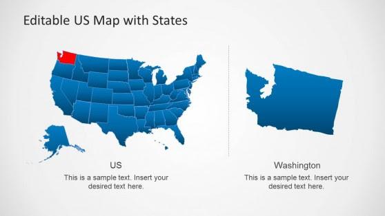 US Map - SlideModel
