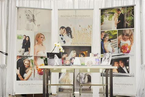 booth ideas using screen shot canvas roll outs custom