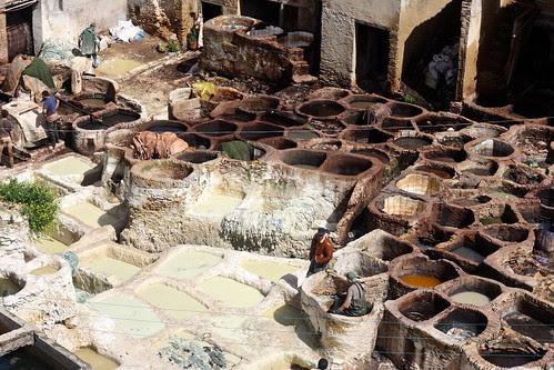 Chouara tanneries, Fez, Morocco