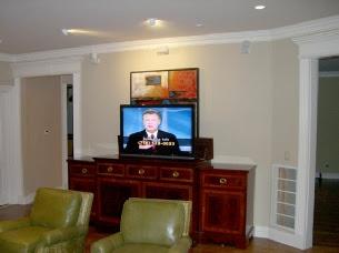 Wall mount TV installation gallery1