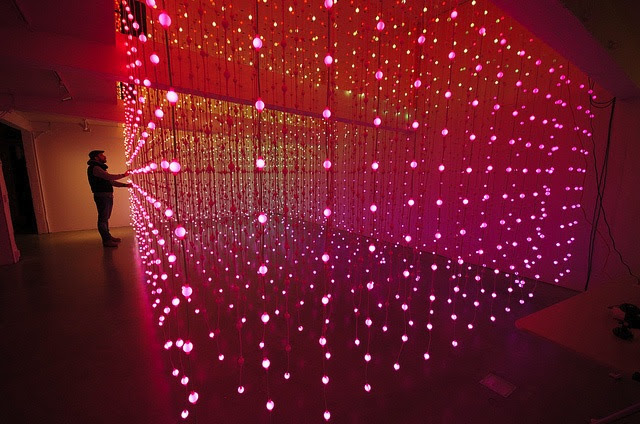 I Want to Get Lost in This Room of 8,064 Floating Lights