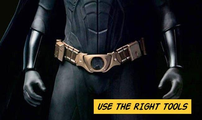 SEO Brisbane - Batman utility belt