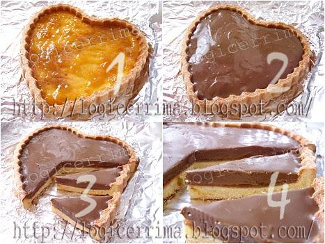 [ Crostata Light al Cioccolato - ricetta passo passo ]