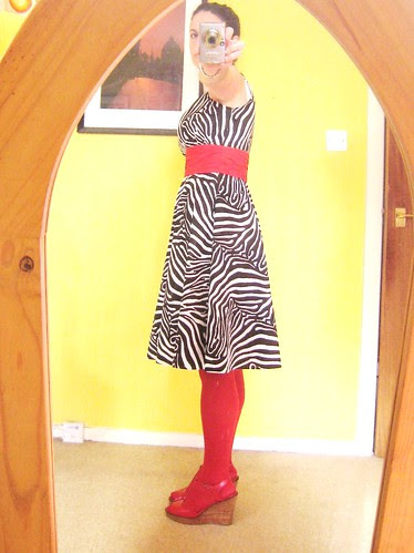 Zebra Sis Boom Jamie dress side