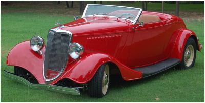 American Speed - 1933 Ford Steel Roadster