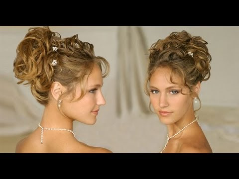 LONG HAIR Hairstyle:updos for curly hair wedding/homecoming/prom 2013 ...